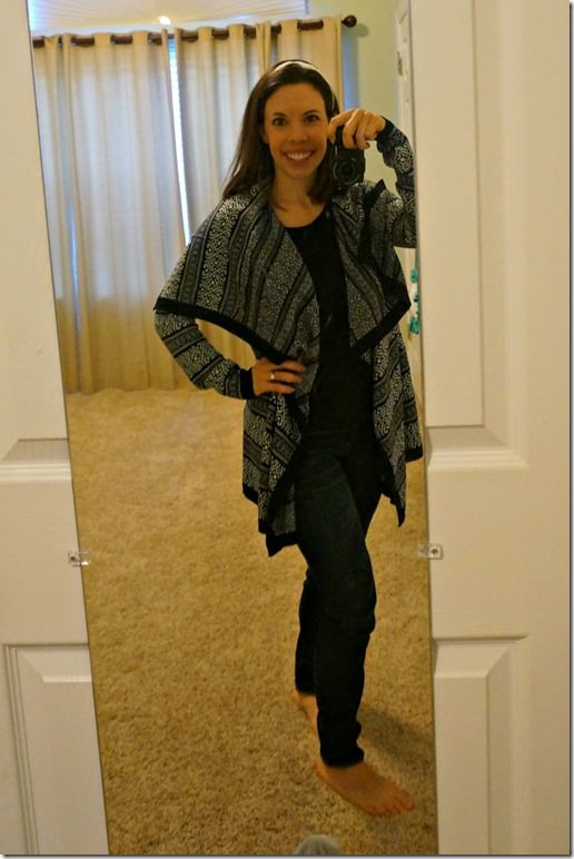 stitch fix draped cardigan