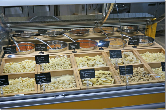 whole foods lake norman- fresh pasta