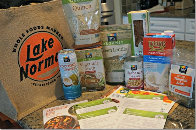 whole foods lake norman- goody bag