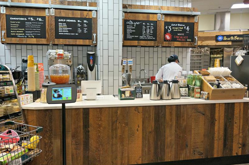 Whole Foods Growler Bar