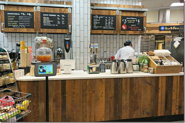 whole foods lake norman- smoothie and coffee bar