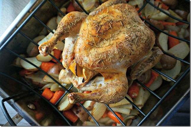 rosemary lemon roasted chicken