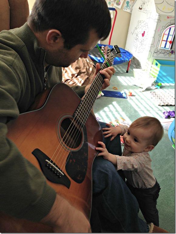 weekend guitar playing