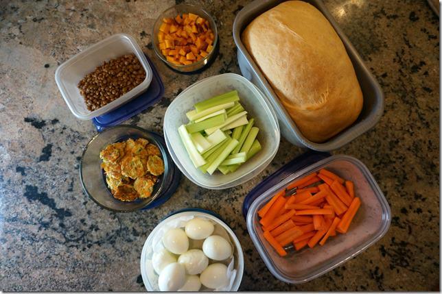 weekend- sunday food prep