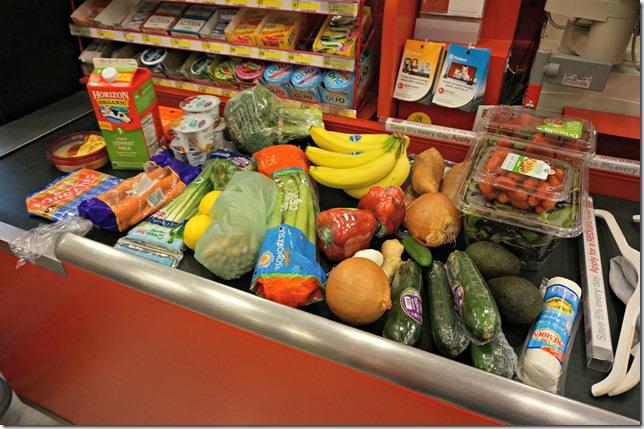 weekend- target grocery shopping