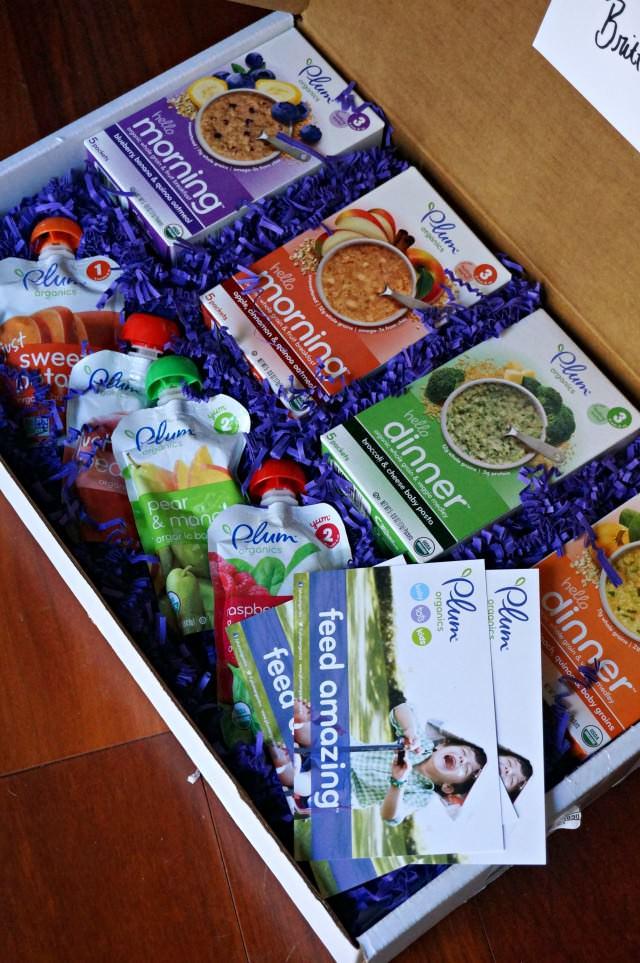 Plum Organics- hello meals giveaway box