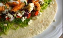 Buffalo Chicken Soft Taco Wraps