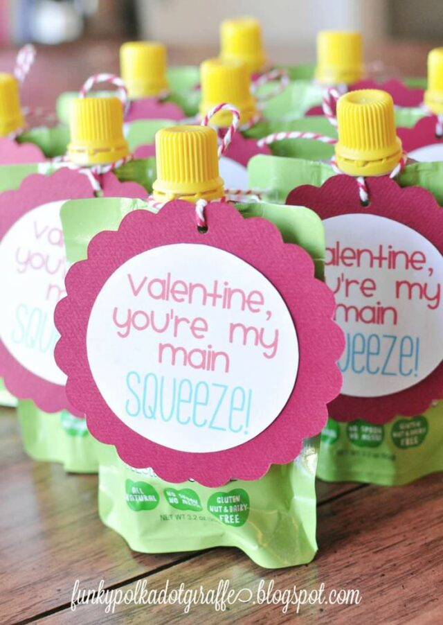 squeeze pouches for valentines
