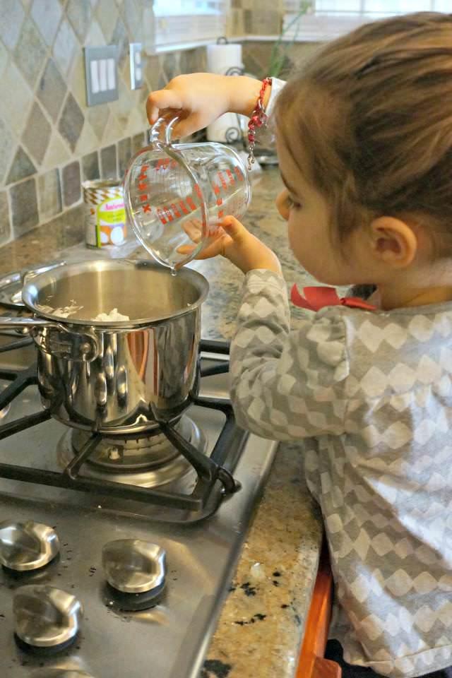 three year old helper