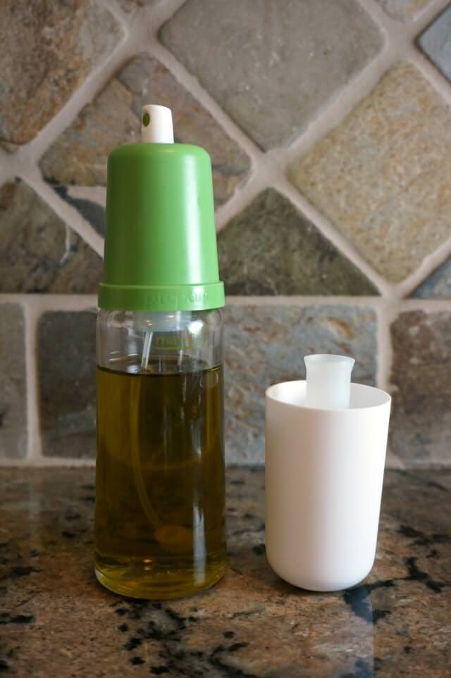 counter top health favorites- olive oil spray
