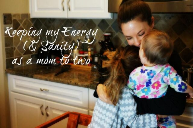 keeping up my energy as a mom