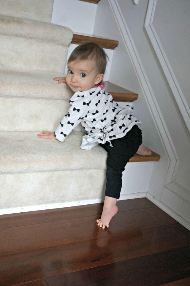 nine month old ballerina