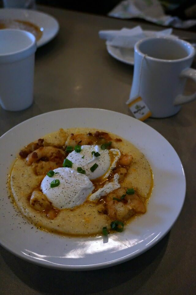 sun up cafe shrimp and grits