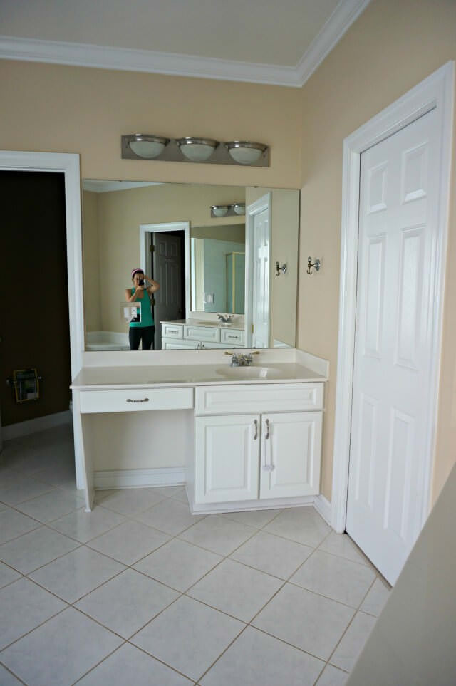 master bath renovation- before- 2