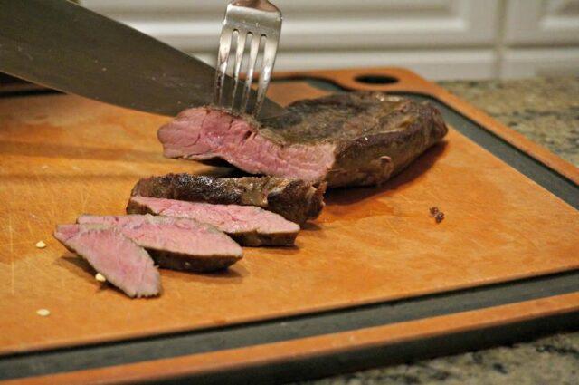 sous vide steak medium rare