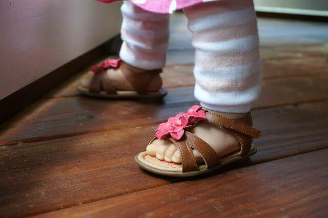 baby sandals Osh Gosh