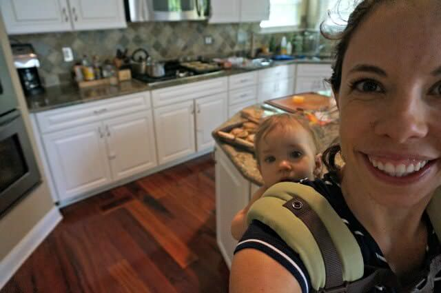 meal planning after vacation- little helper