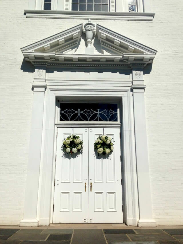 wedding- church doors