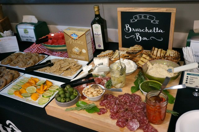a day of food- appetizer spread