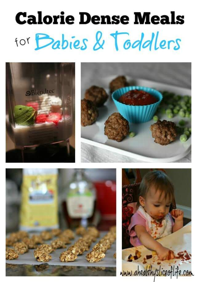 calorie dense mini meals- for babies and toddlers