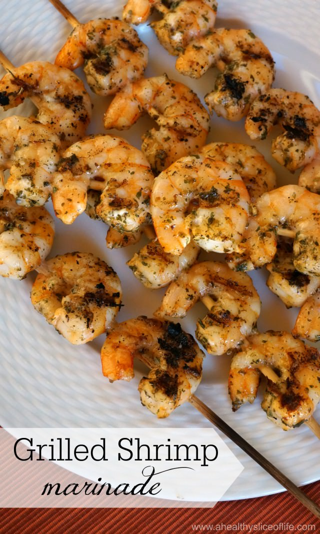 easy delicious grilled shrimp marinade