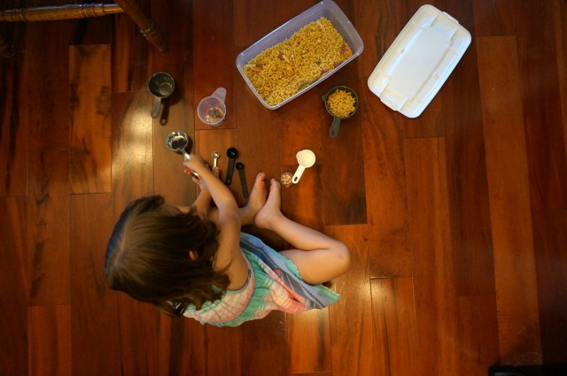 dry pasta sorting
