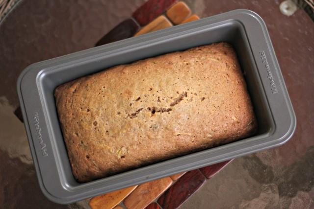 easy zucchini bread- 1