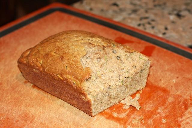 easy zucchini bread- 4