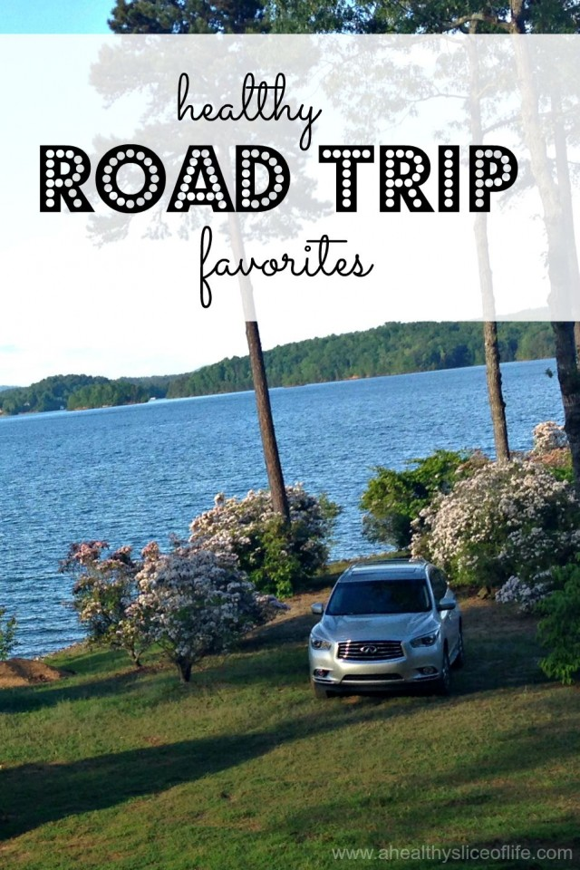 healthy road trip favorites- for summer travel with the family