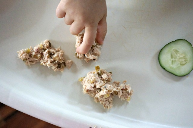 simple tuna fish salad- for toddlers