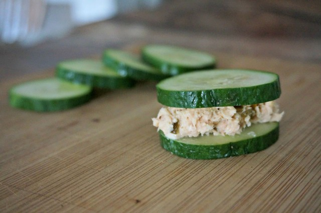 simple tuna fish salad- low carb lunch