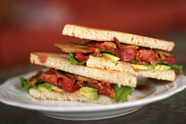 ultimate summer sandwich- close up