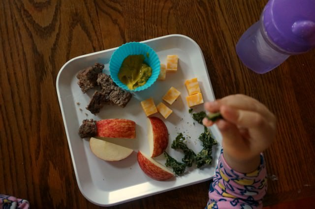 unique vegetables for toddlers- lunch plate