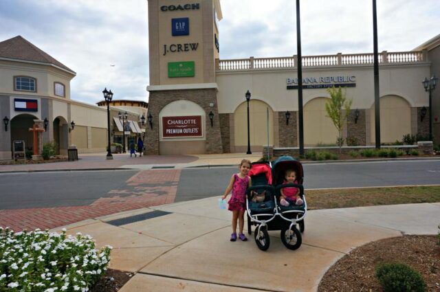 back t oschool shopping- Charlotte premium outlets