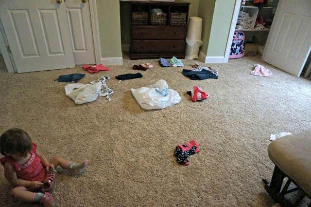 back to school shopping- reorganizing closets