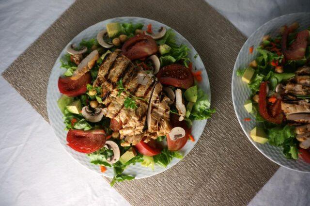 grilled chicken salads