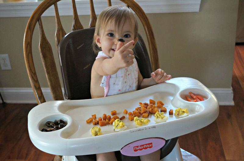 how much should a 14 month old eat- black olives