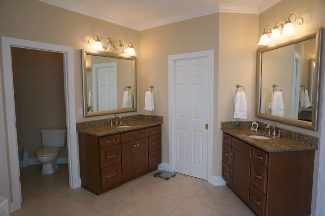 master bath renovation- after- 2