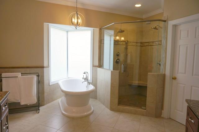 master bath renovation- after- 3