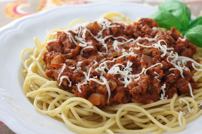 ... meal that is warm and satisfying, give my mom's spaghetti a whirl