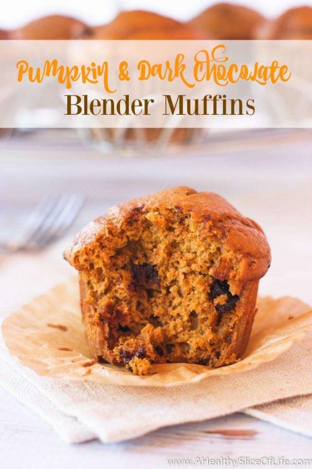 Blender Pumpkin Muffins cover