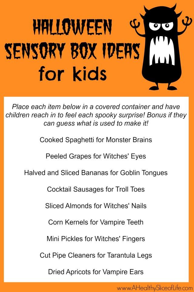 Halloween Sensory Box Surprise Ideas for Kids