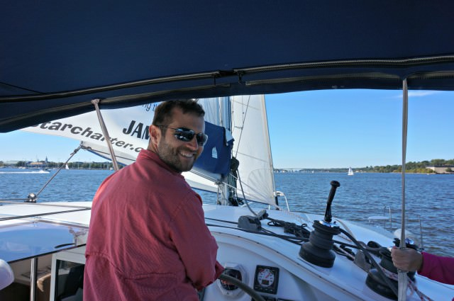 annapolis boat show 2015 11- take the wheel