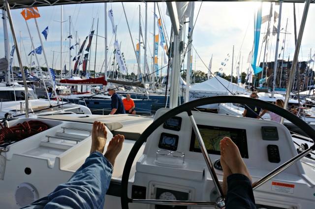 annapolis boat show 2015 2- lagoon450