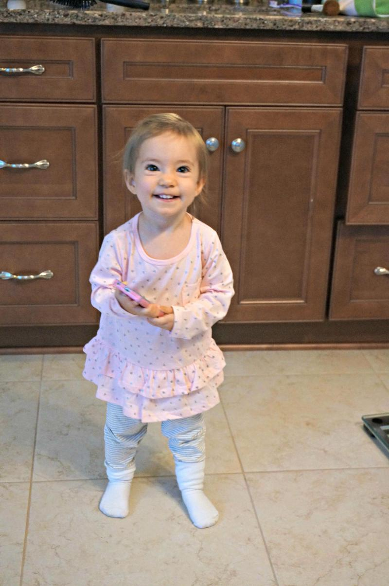 Kaitlyn at 17 Months Old | A Healthy Slice of Life