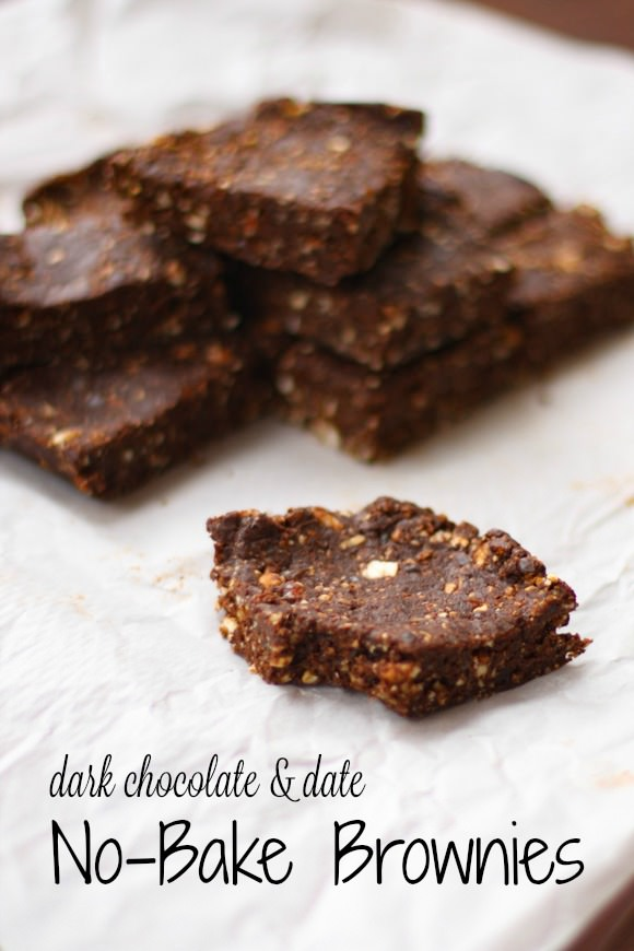 Date Brownies- cover