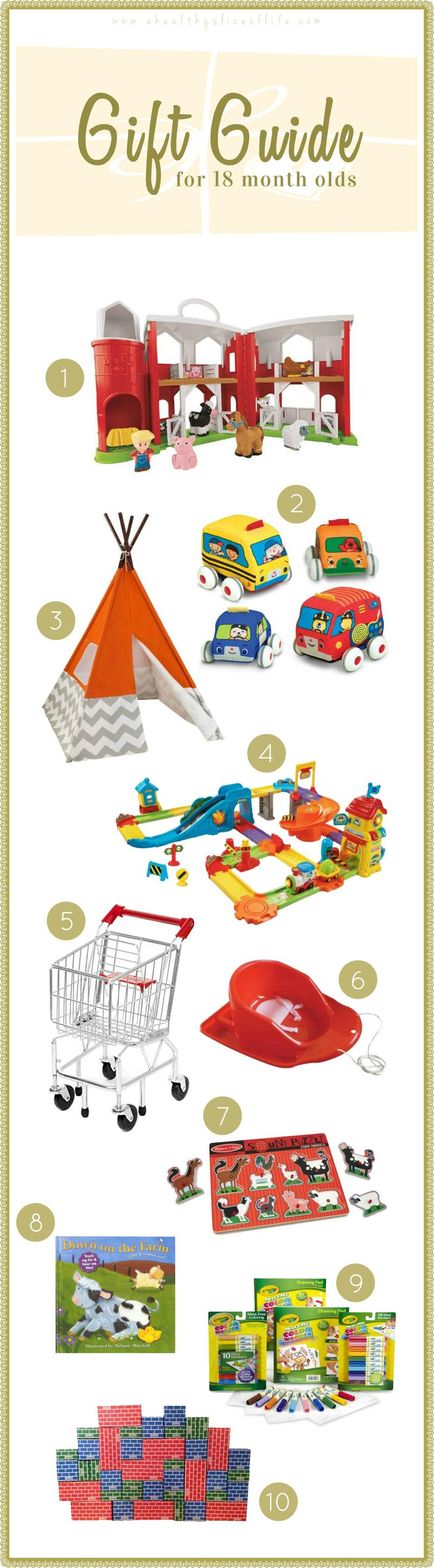 Gift ideas for toddlers 18 months a healthy slice of life gift guide 18 months old negle Image collections