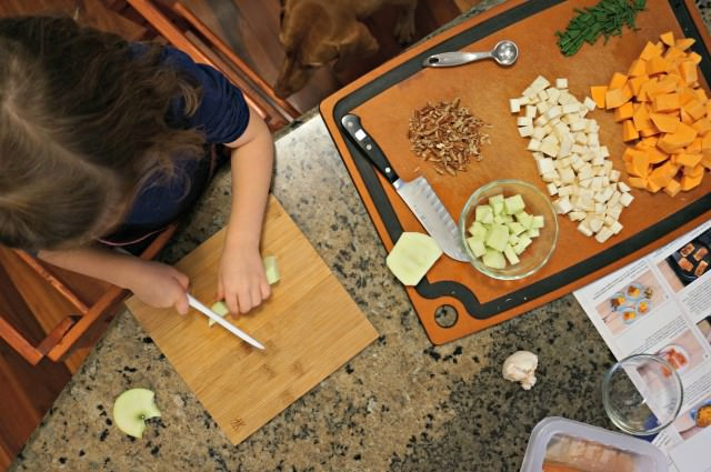 Kids Cooking- Blue Apron- 6
