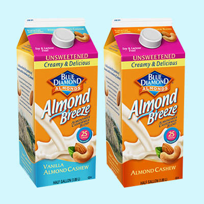 almond breeze cashew milk blend