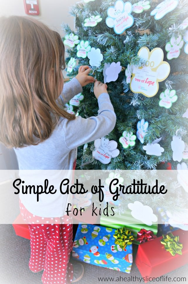simple acts of gratitude for kids